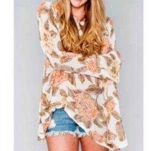 BOGO! Show Me Your MuMu Sweater Small floral